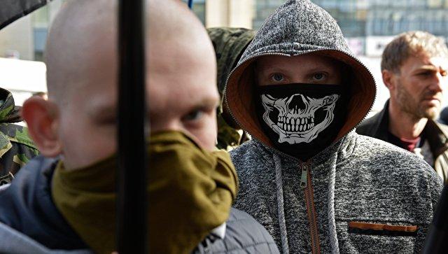 СМИ: радикалы заблокировали концерт украинской певицы Билык во Львове