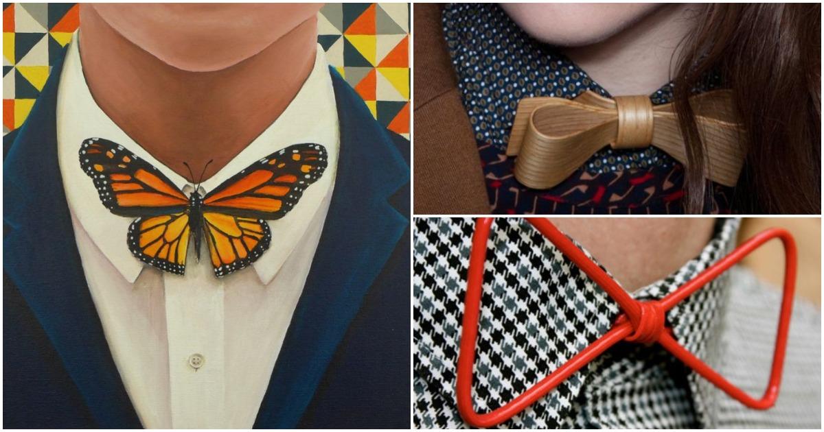 Галстук-бабочка: новое прочтение классического аксессуара