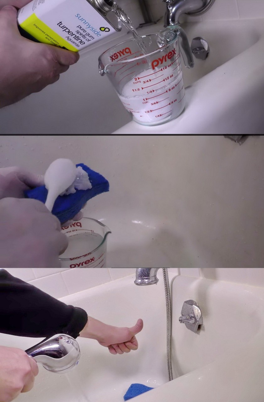 4. Ослепительная ванна быт, соль