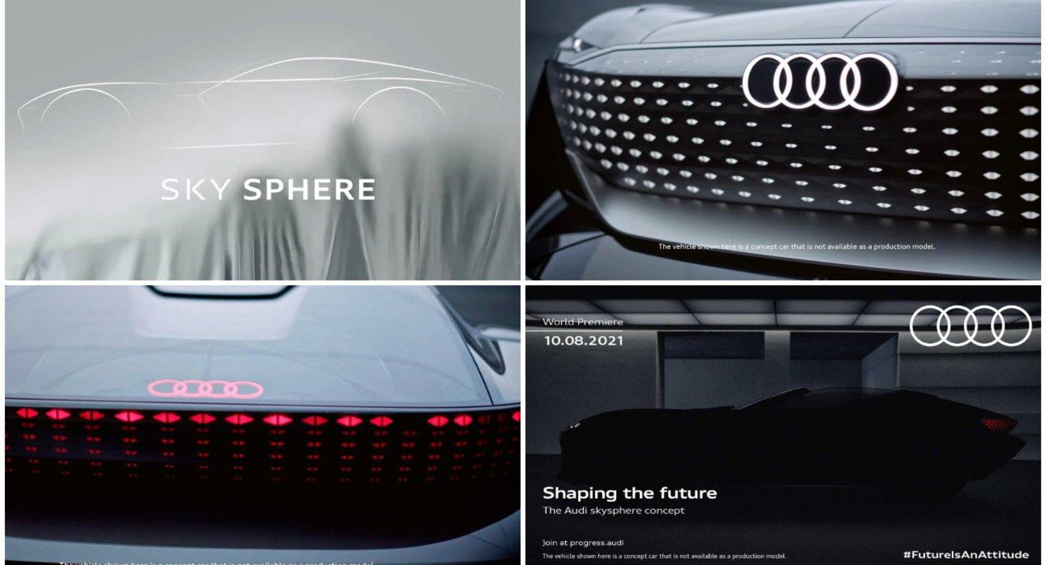 Бренд Audi презентует новый спорткар Audi Sky Sphere 10 августа 2021 года Автоновинки