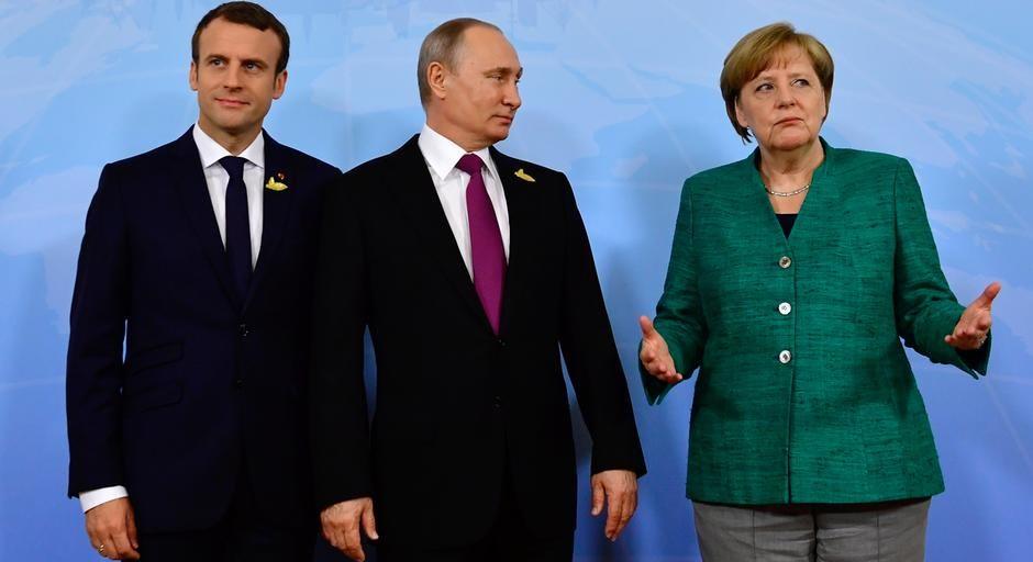 Путину и Макрону немцы довер…