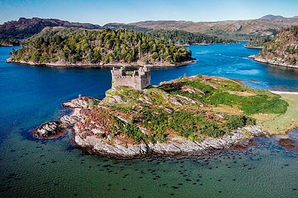 Остров в Шотландии выставили на продажу по цене «однушки» в Москве Дом