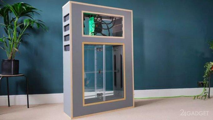 Представлен компьютер с «дышащей» системой охлаждения