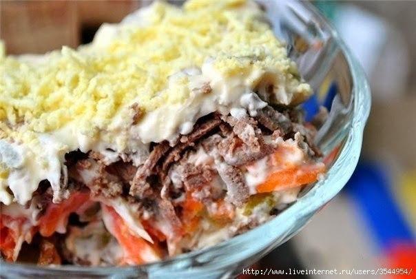 Самые вкусные рецепты салатов на праздник