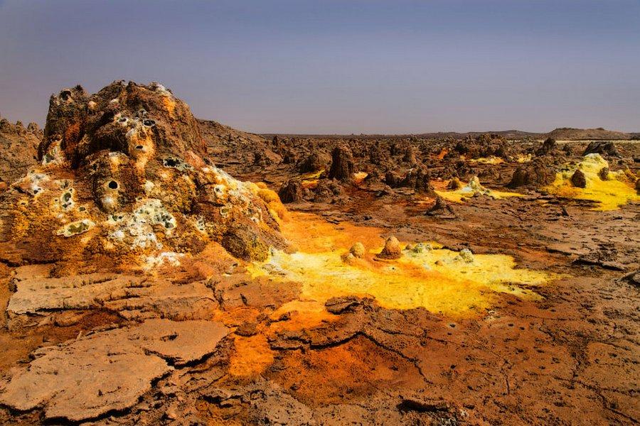 На другой планете: вулкан Даллол