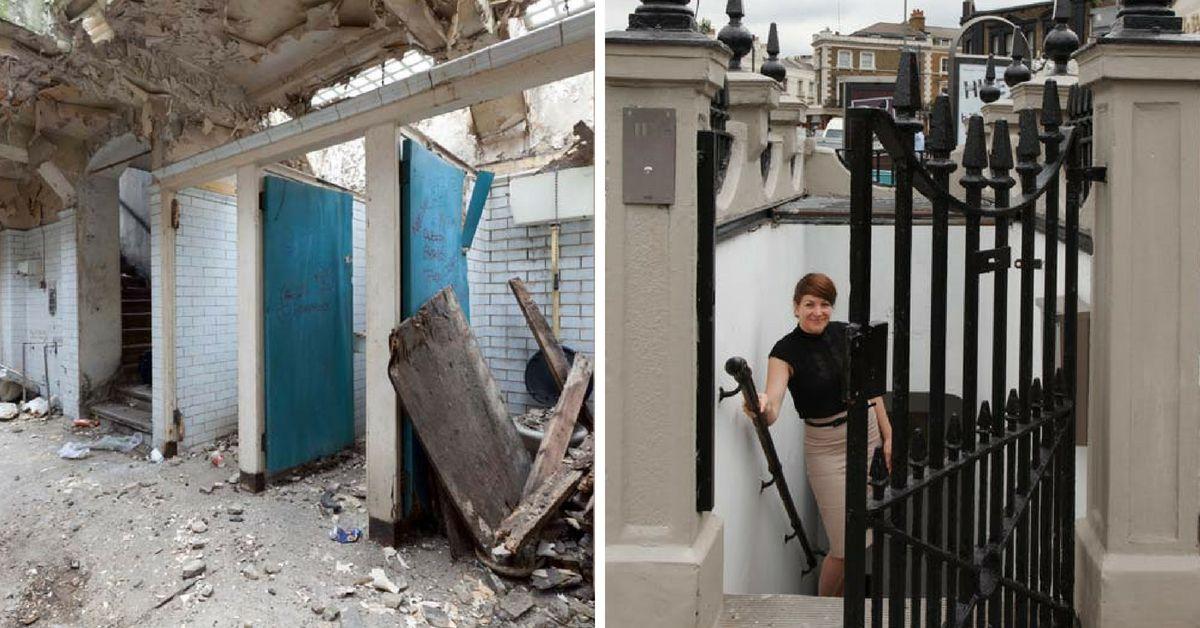 Молодая архитектор превратила общественный туалет в уютное гнездышко. Результату можно позавидовать