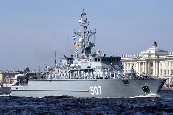 В Главном военно-морском пар…