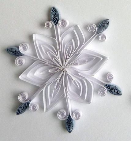 Петельчатая снежинка