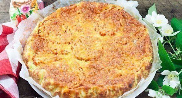 Кабачковый пирог к ужину: хочется готовить его чаще пока сезон!