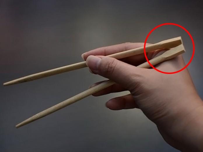 А вы знаете, зачем нужна эта часть китайских палочек?