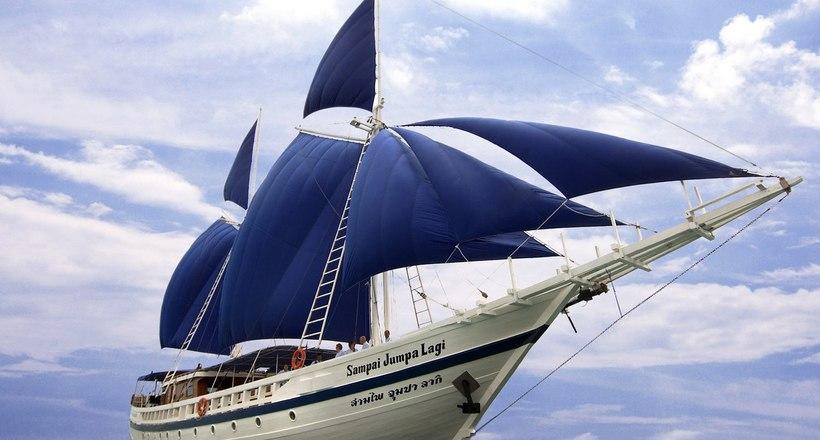 Может ли парусное судно плыть против ветра