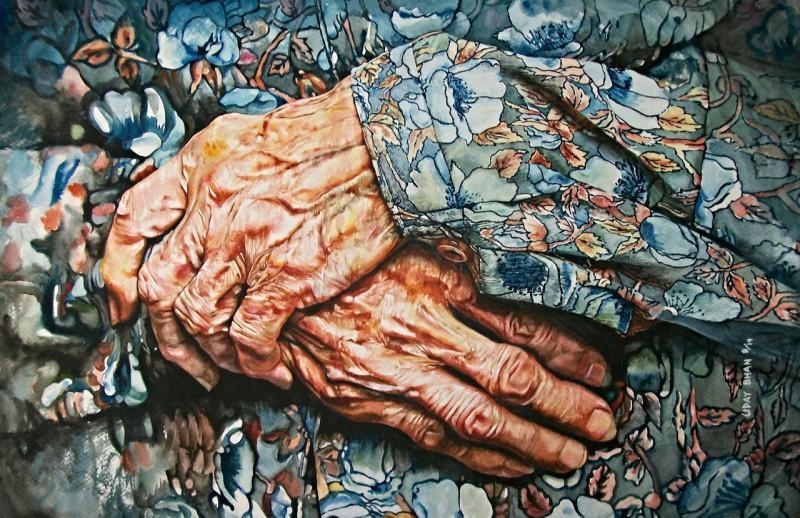 Любовь и мир в искусстве акварели