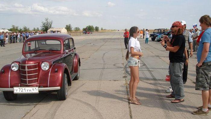 """Москвич-401"" хрупкой девушки Кати москвич, москвич 401"