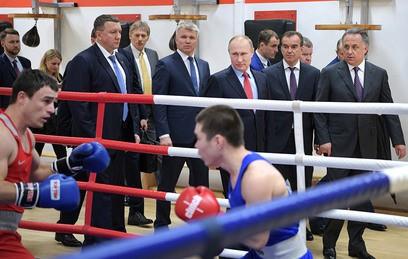 Путин: нужно пересмотреть систему подготовки спортивного резерва