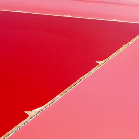 Цветные австралийские пруды - яркие краски, созданные природой!