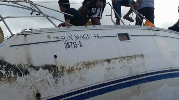 белье мумия на борту яхты отводит
