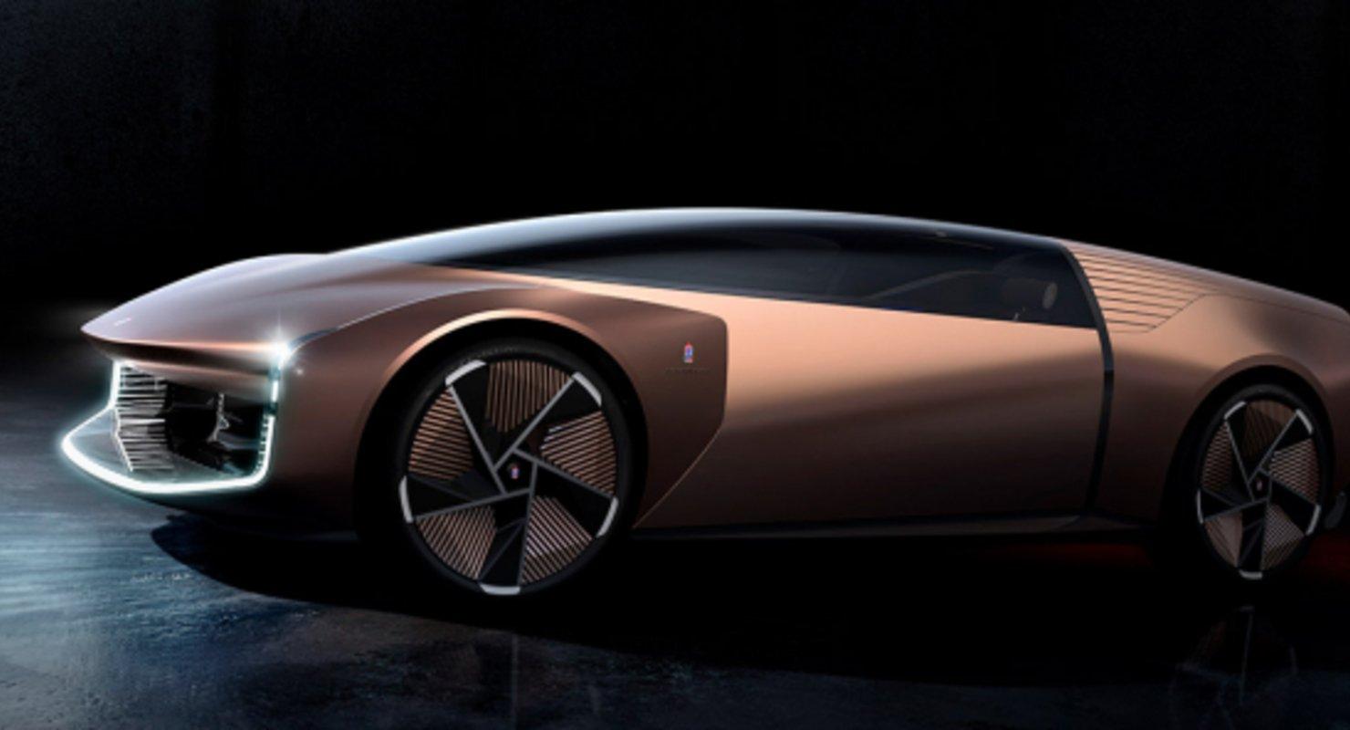 Pininfarina Teorema — автомобиль из виртуального будущего Автомобили