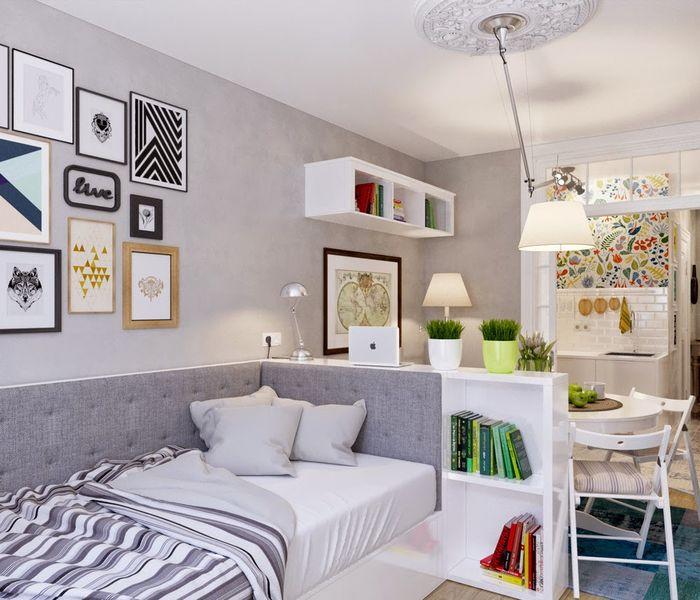 Правильное освещение в маленькой квартире