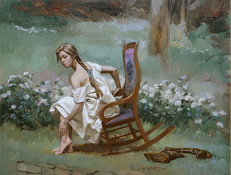 Искусство Вильяма Витакера живопись