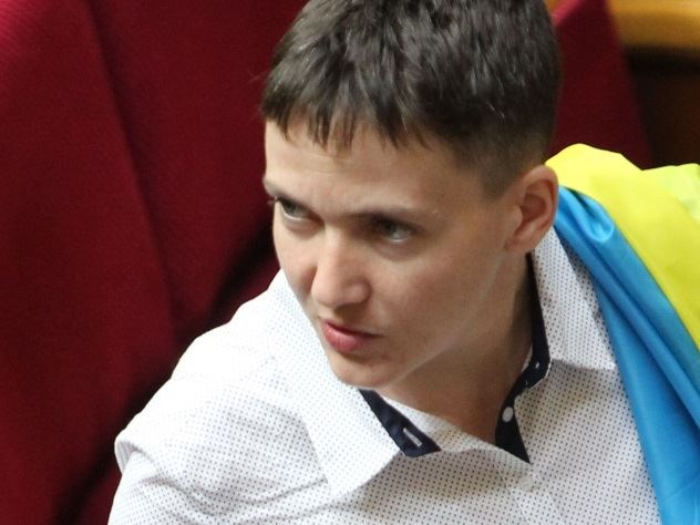 Задержание Савченко в Раде попало на видео