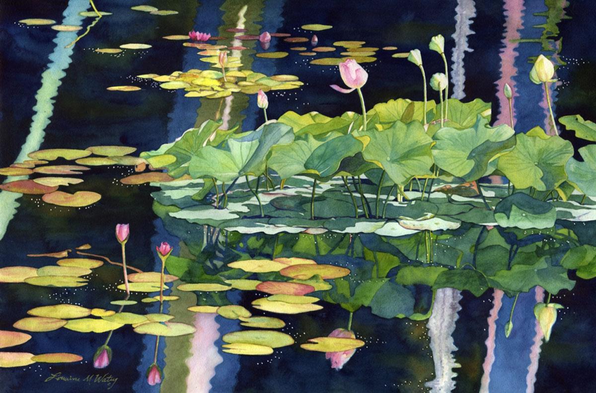 У цветов не бывает будней... Американская художница Lorraine Watry