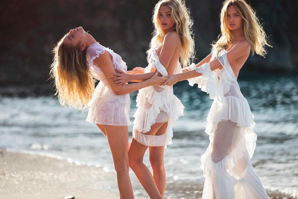 Ангелы Victoria's Secret разделись для испанского Vogue