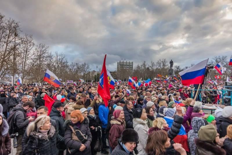 Воссоединение Крыма с Россией сравнили с объединением Германии
