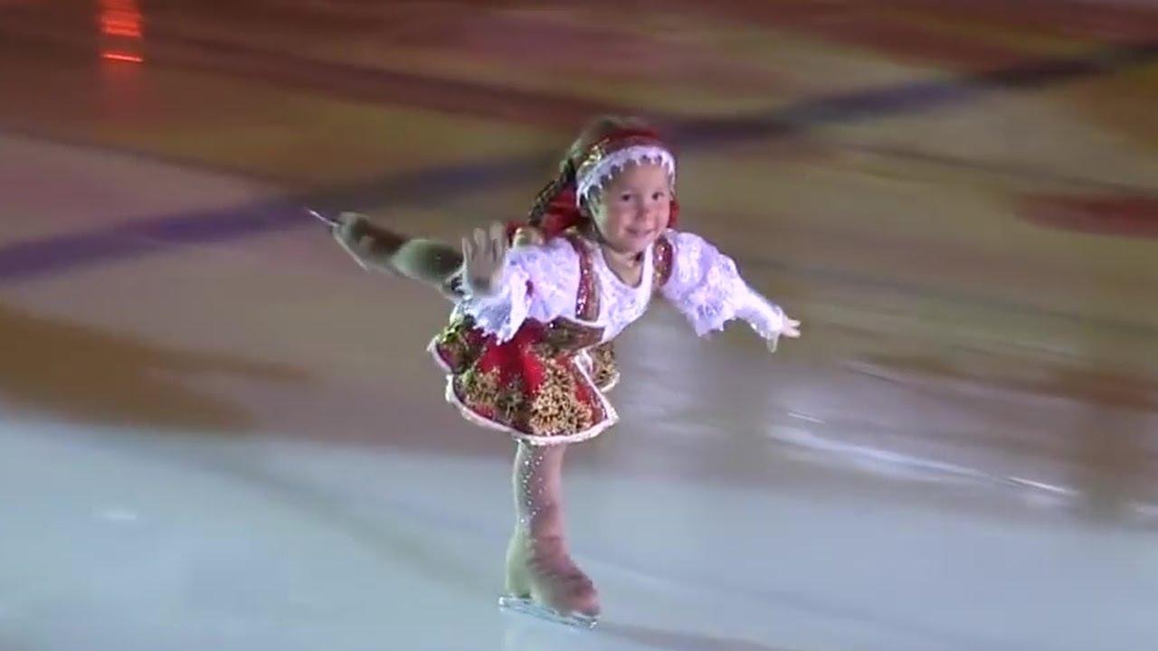 3-летняя фигуристка из Казани покорила Интернет
