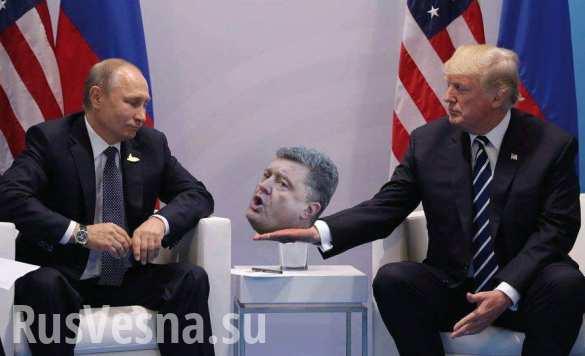 Политические противники Порошенко готовят ему скотомогильник