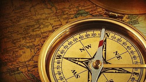 Простейший переносной солнечный компас