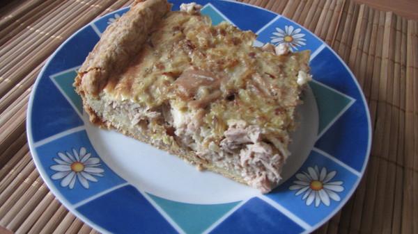 Вкусно и красиво!  Рыбный пирог