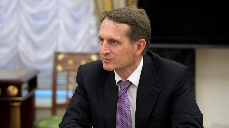 Сергей Нарышкин: ответил на …