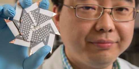 Ученые использовали фигуру оригами для создания батареи