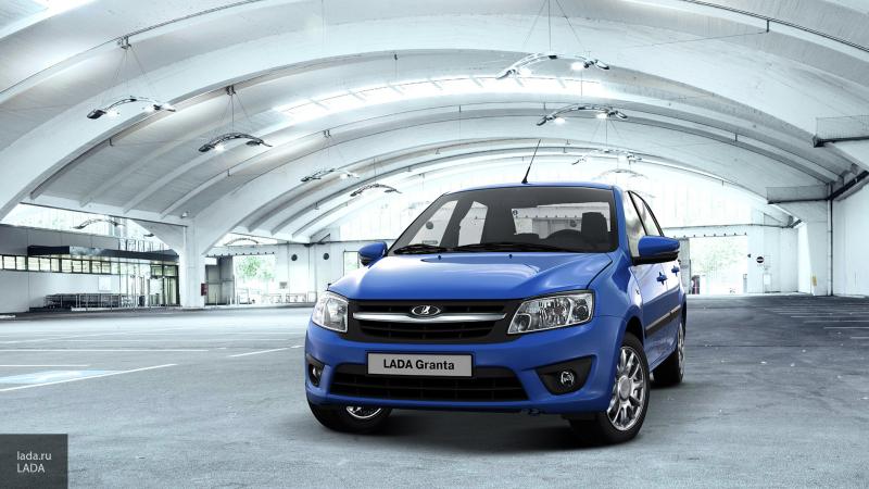 В Казахстане началось производство новой Lada Granta
