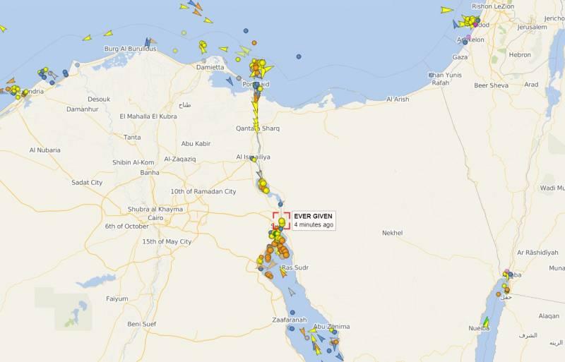 Перекрывший Суэцкий канал контейнеровоз грозит взвинтить цены на нефть Новости