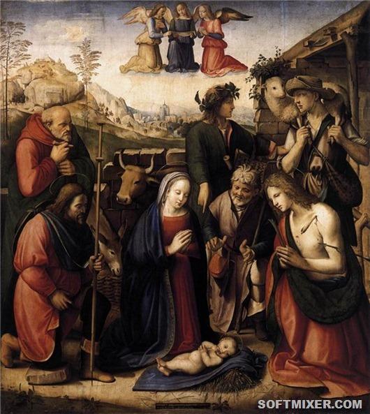 Рождество Христово в живописи