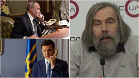 """Погребинский рассказал, как Путин разговором свел на нет """"хулиганскую"""" игру Зеленского новости,события"""