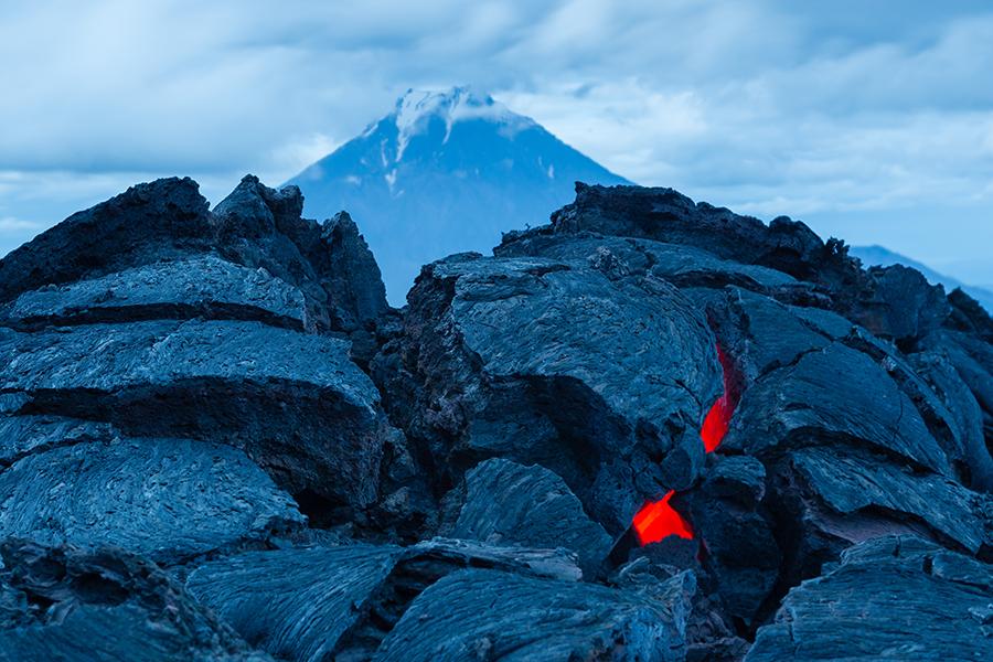 Извержение вулкана Толбачик