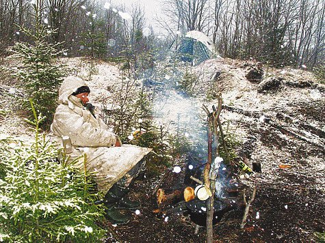 Как выжить зимой в лесу выживание в лесу, охота, снаряжение