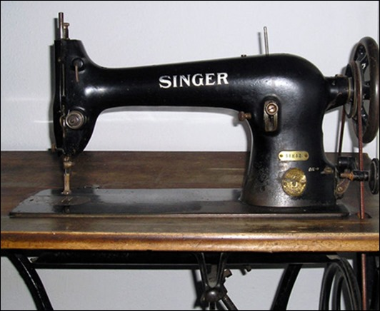 История вещей: Швейные машины