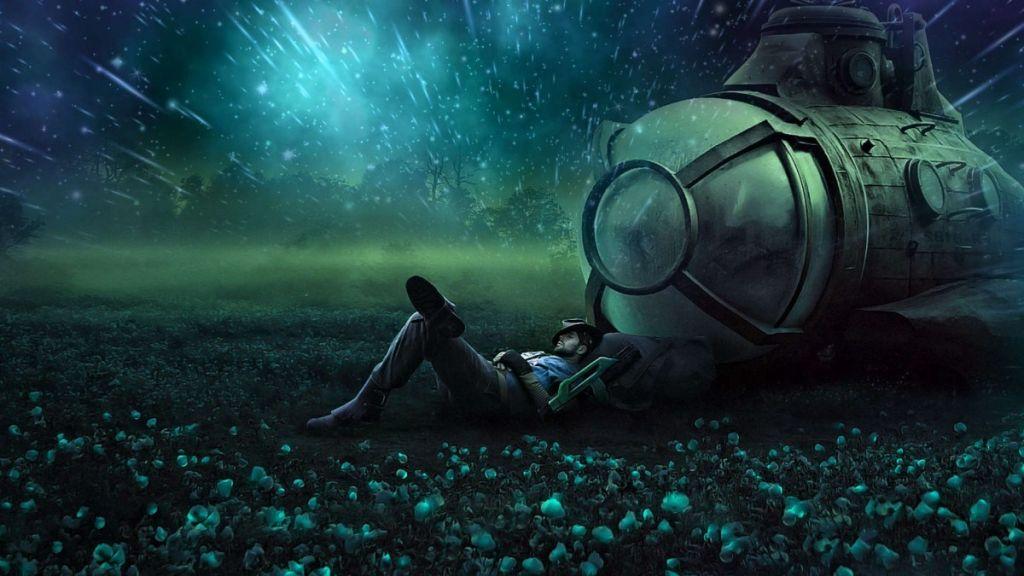 Сон в летний день или по стопам Алисы