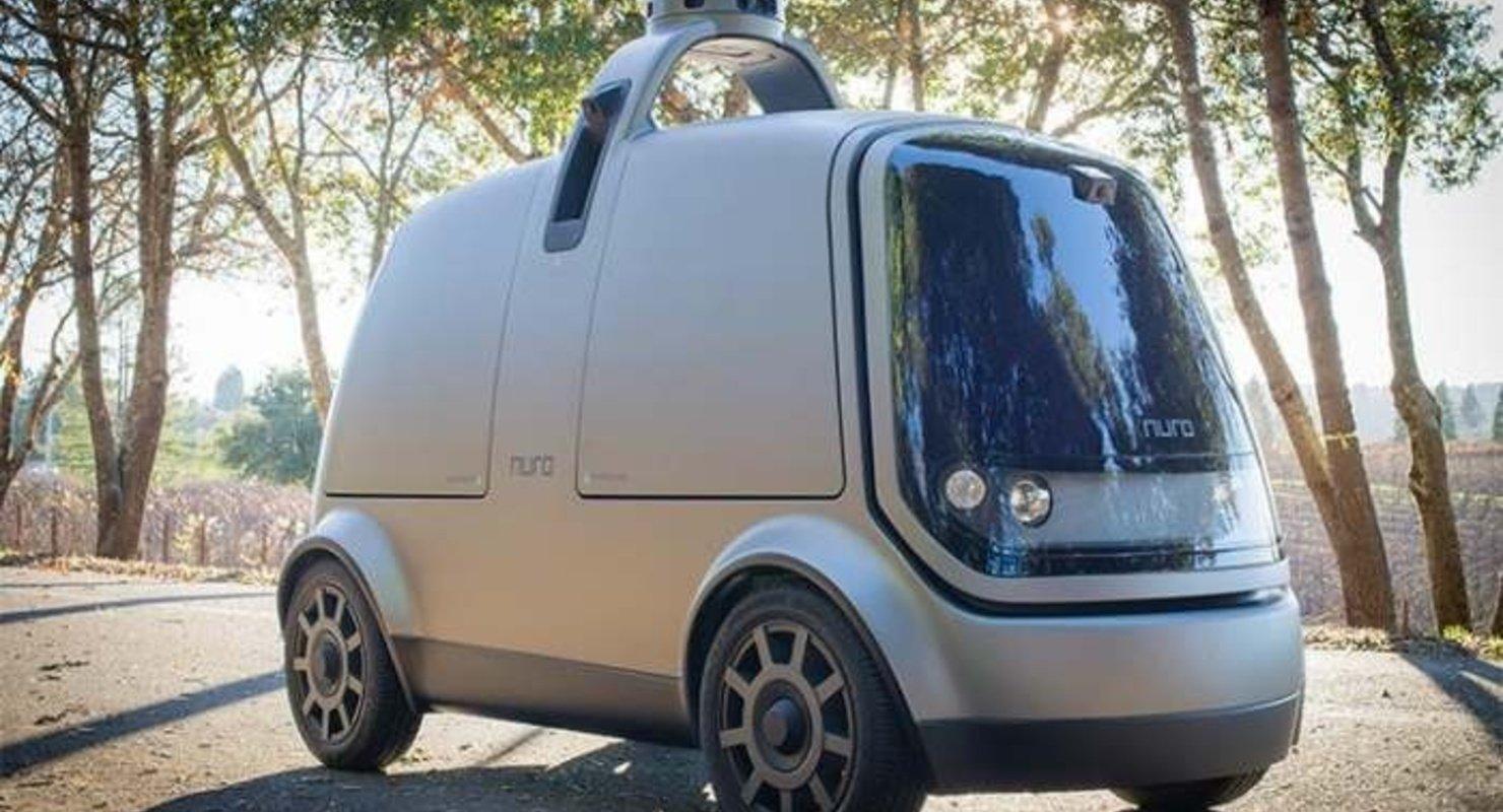 Автомобиль Nuro без руля и педалей самостоятельно выстраивает маршруты Автомобили
