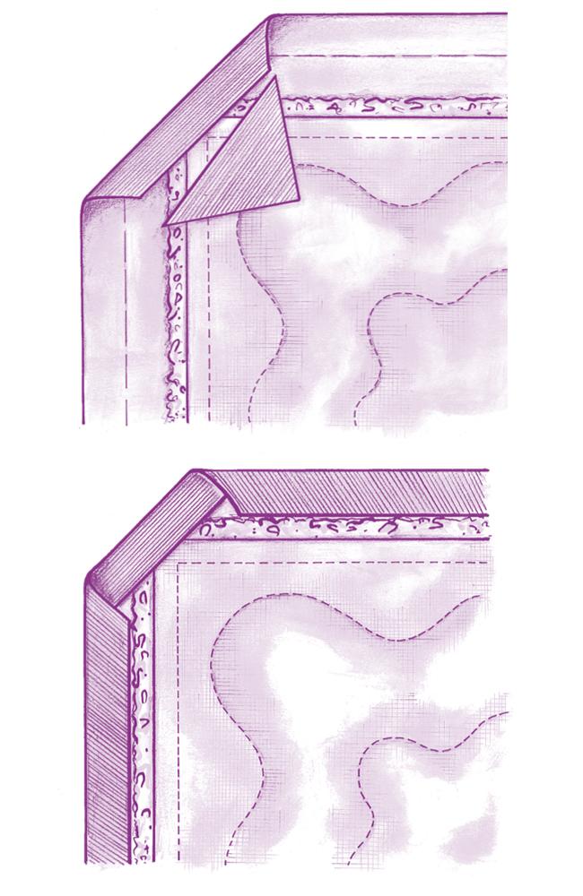 Пэчворк: оформление краев лоскутного изделия