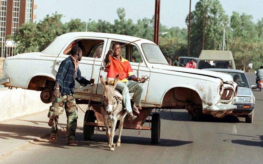 Безумно перегруженные автомобили Африки