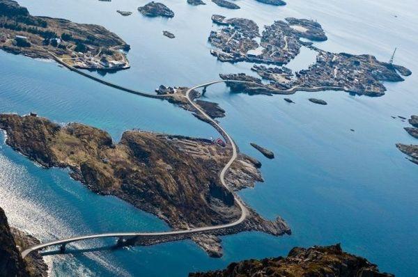 Атлантическая дорога (The Atlantic Ocean Road), Норвегия
