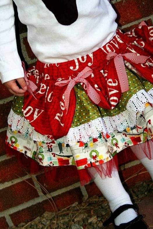 ИГОЛКА С НИТОЧКОЙ. Как сшить нарядную детскую юбку
