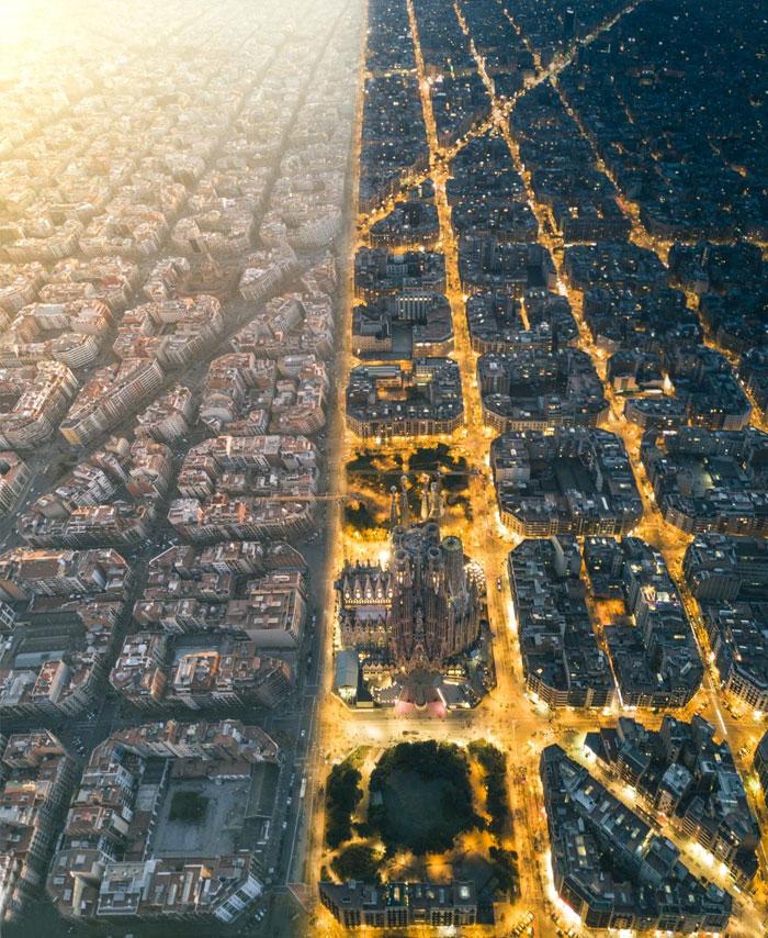 27 сравнительных фото, которые открывают мир с другой стороны мир,факты