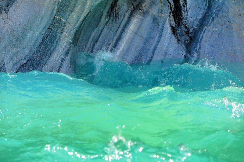 Чили. Мраморные пещеры озера Хенераль Каррера путешествия, факты, фото