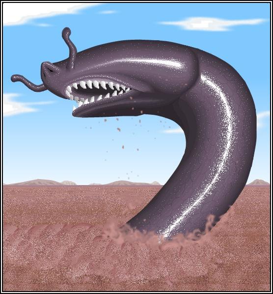 Гигантский червь минхочао из легенд бразильских индейцев