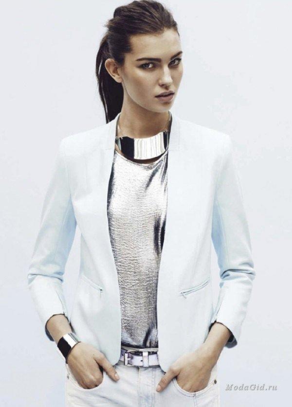 Модный тренд – металлик. Как носить весной и летом 2015?